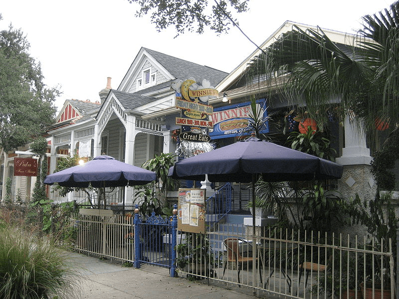 New Orleans, shops on Magazine Street. Photo Credit Infrogmation New Orleans. Touism. Travel, Sightseeing.